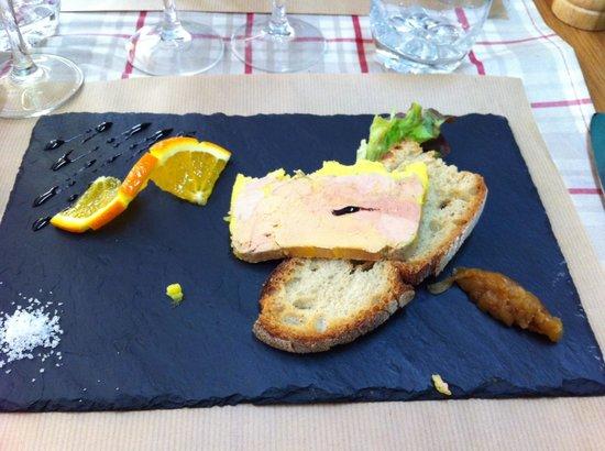 La Petite Borie : une petite entrée de foie gras