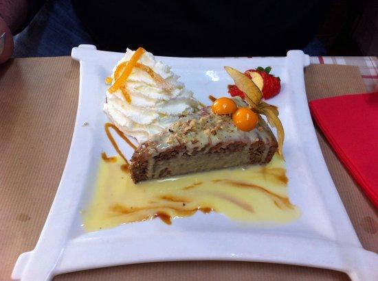 La Petite Borie : un petit gâteau aux noix