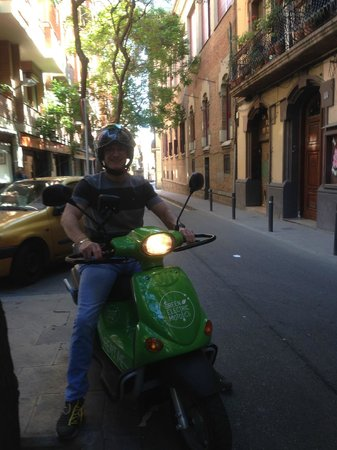 Green Electric Moto: Green Eletric Moto