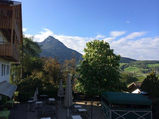 Hotel Heubad: Blick vom Balkon