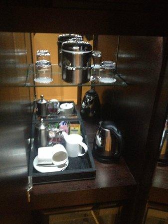 The Grosvenor Hotel: Tea / Coffee making facilities