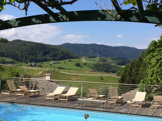 Hotel Heubad: Über den Pool