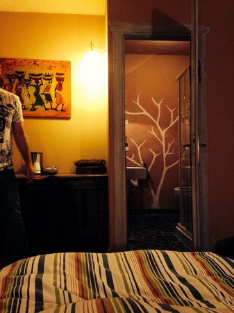 Piccolo Hotel Olina: Toilet / shower