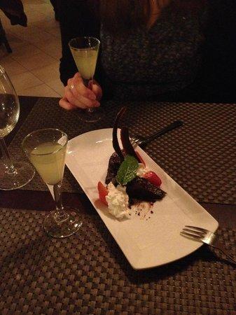 Zest Ristorante & Winebar: fondant chocolat