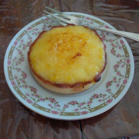 Eric the Baker: Lemon tart.  Mmmm, very lemony, just the way I like it!