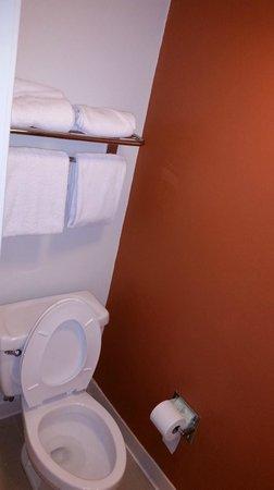 Sleep Inn Near Busch Gardens/usf: Toilet area.