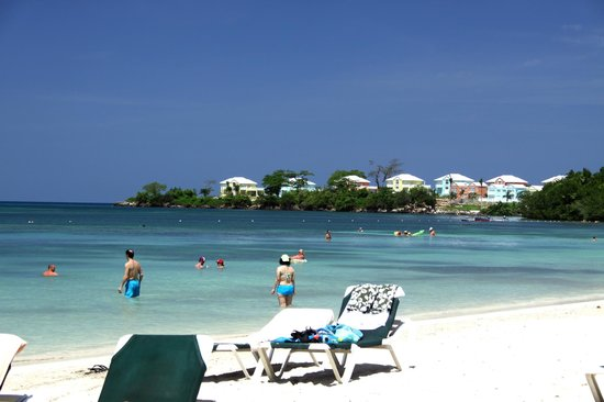 ClubHotel Riu Negril: View from Beach