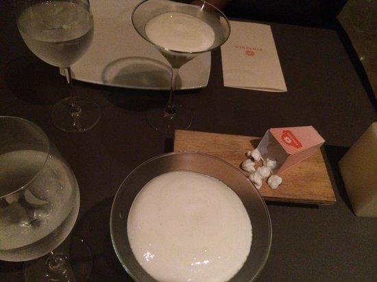 Restaurante Benazuza: Margarita with a twist