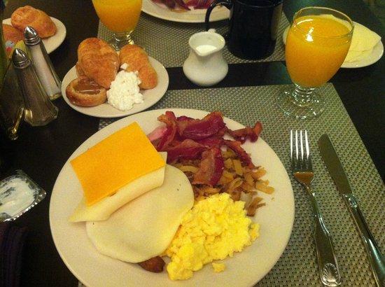 Sheraton Miami Airport Hotel & Executive Meeting Center : Café da Manhã