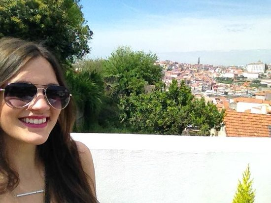 Gaia Porto Hostel : Rooftop view!