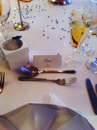 Lynnhurst Hotel : Table setting