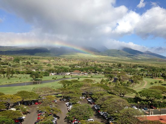 Westin Maui Resort And Spa : View from the Mountain view side