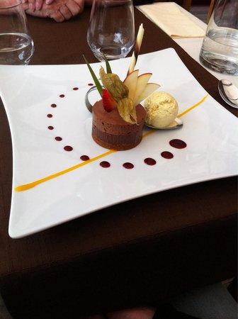La Table des Barons: Douceur chocolat de Nicolas