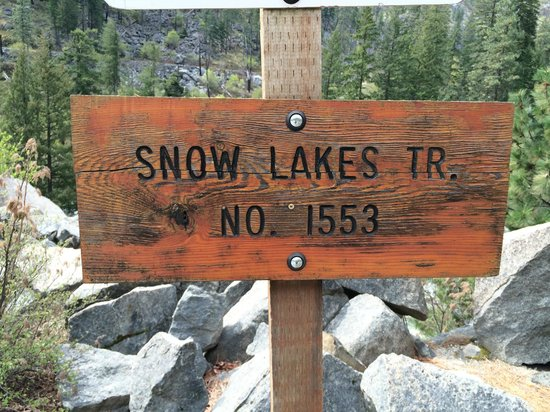 Icicle Inn at Icicle Village Resort: Snow Lakes Trail and the Alpine Lakes Wilderness = 5 miles.