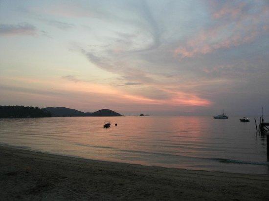 Good Time Resort Koh Mak: Sonnenuntergang Koh Mak