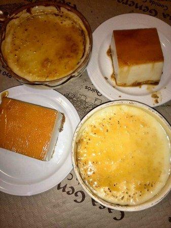 Casa Generosa : Tarta de queso y arroz con leche