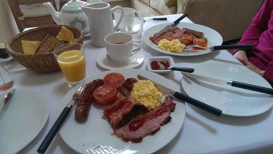Glan House: Breakfast