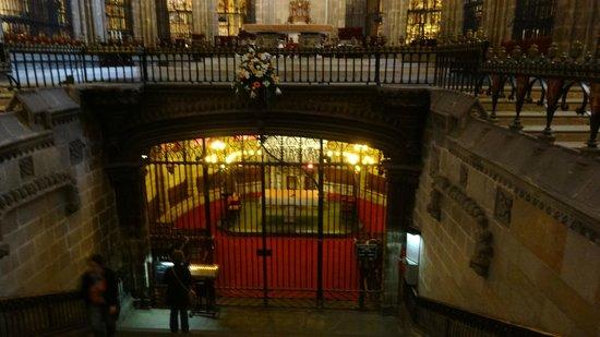 Catedral de Barcelona: Святая святых..