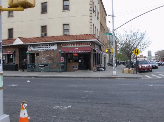 Photo of Italian Restaurant Danny's Pizzeria  at 241 Bushwick Ave, Brooklyn, NY 11206, United States
