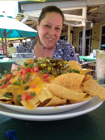 Margaritaville Panama City Beach : Look at those nachos