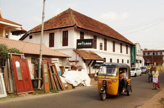 Vrindavanam Heritage Home: Hotel frontage