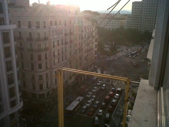 Tryp Madrid Centro : view