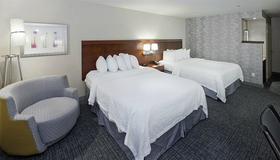 Courtyard Ontario Rancho Cucamonga: Double Bedded Room-2 Queen Size Beds