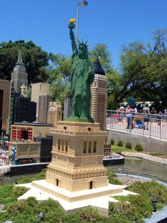 LEGOLAND Florida Resort : Lady Liberty in Lego