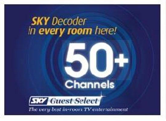 Gables Motor Lodge : SKY TV 50+ Channels