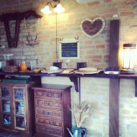 Casale Belriguardo Room & Breakfast e Wellness: Colazione