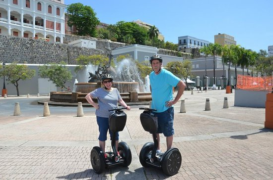 Segway Tours of Puerto Rico : First stop!