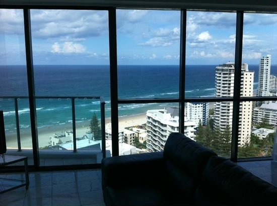 Artique Surfers Paradise: View from lounge