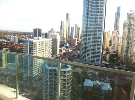 Artique Surfers Paradise: City views
