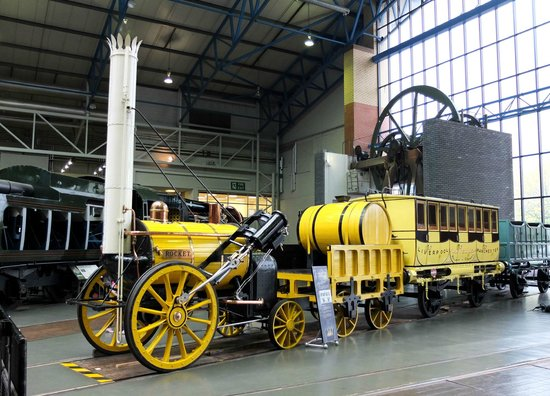 National Railway Museum: Rocket- the start of it all!