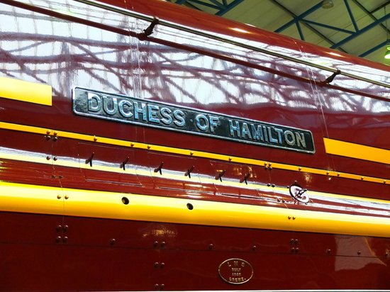 National Railway Museum: Beautiful name, beautiful engine.