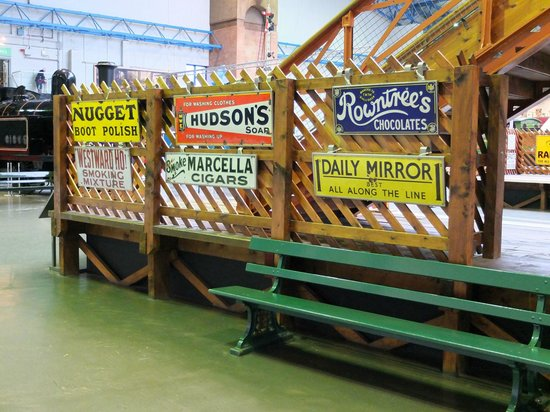 National Railway Museum: Advertising- old style.
