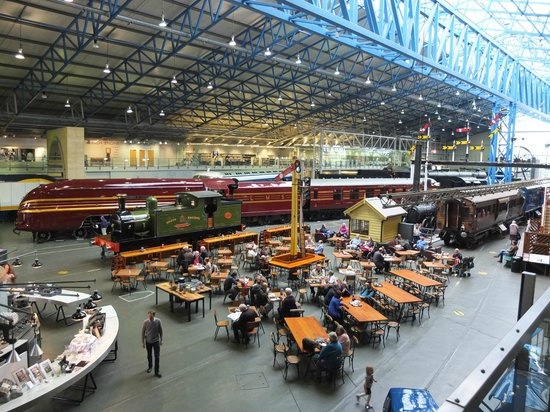 National Railway Museum: Cathedral of railway history.
