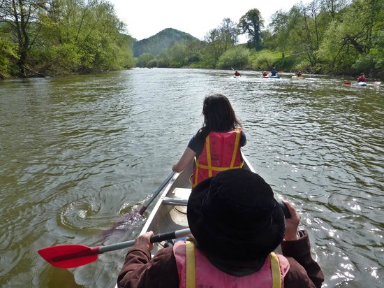 Wyedean Canoe Day Trips And Activity Centre : River Wye