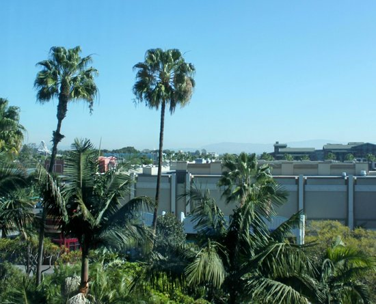 View From Disneyland Hotel Adventure Tower Room