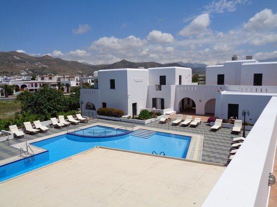 Astir of Naxos : apartamentos e piscina