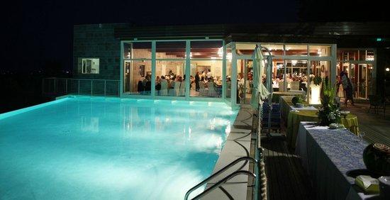 Ristorante Parco Hotel: Piscina e sala Infinity