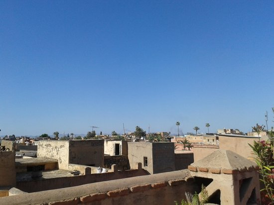 Views from the Terrace of Riad Assalam