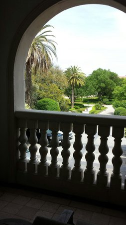 The Cloister at Sea Island: View from our balcony