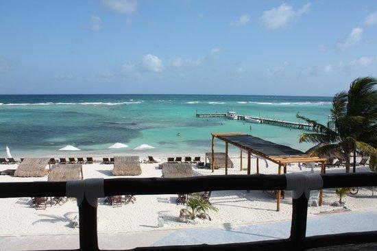 Koox Quinto Sole Boutique Hotel: Vue de la chambre