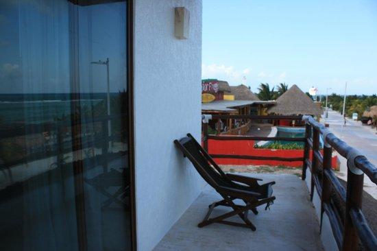 Koox Quinto Sole Boutique Hotel: Le balcon