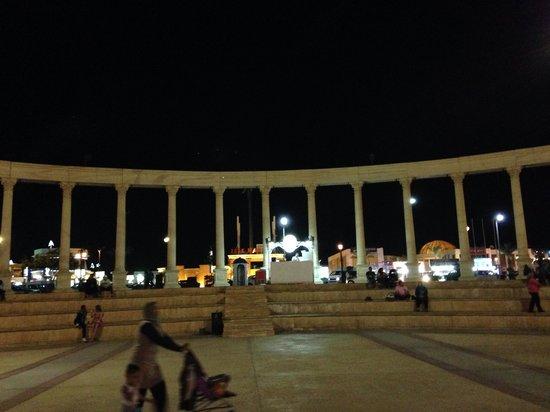 Mexicana Sharm Resort : Amphitheater il Mercato next to mcdonalds