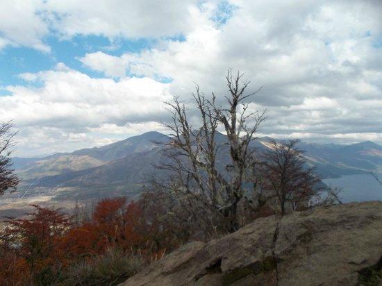 Cerro Otto: Vista desde Cerro Tronador