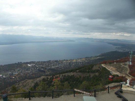 vista de Bariloche desde Cerro Otto