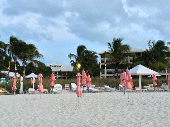 Ocean Club West: Early morning beach scene