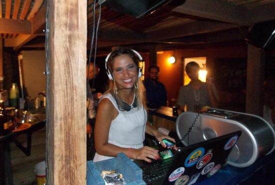El Indio Hostel: en el bar